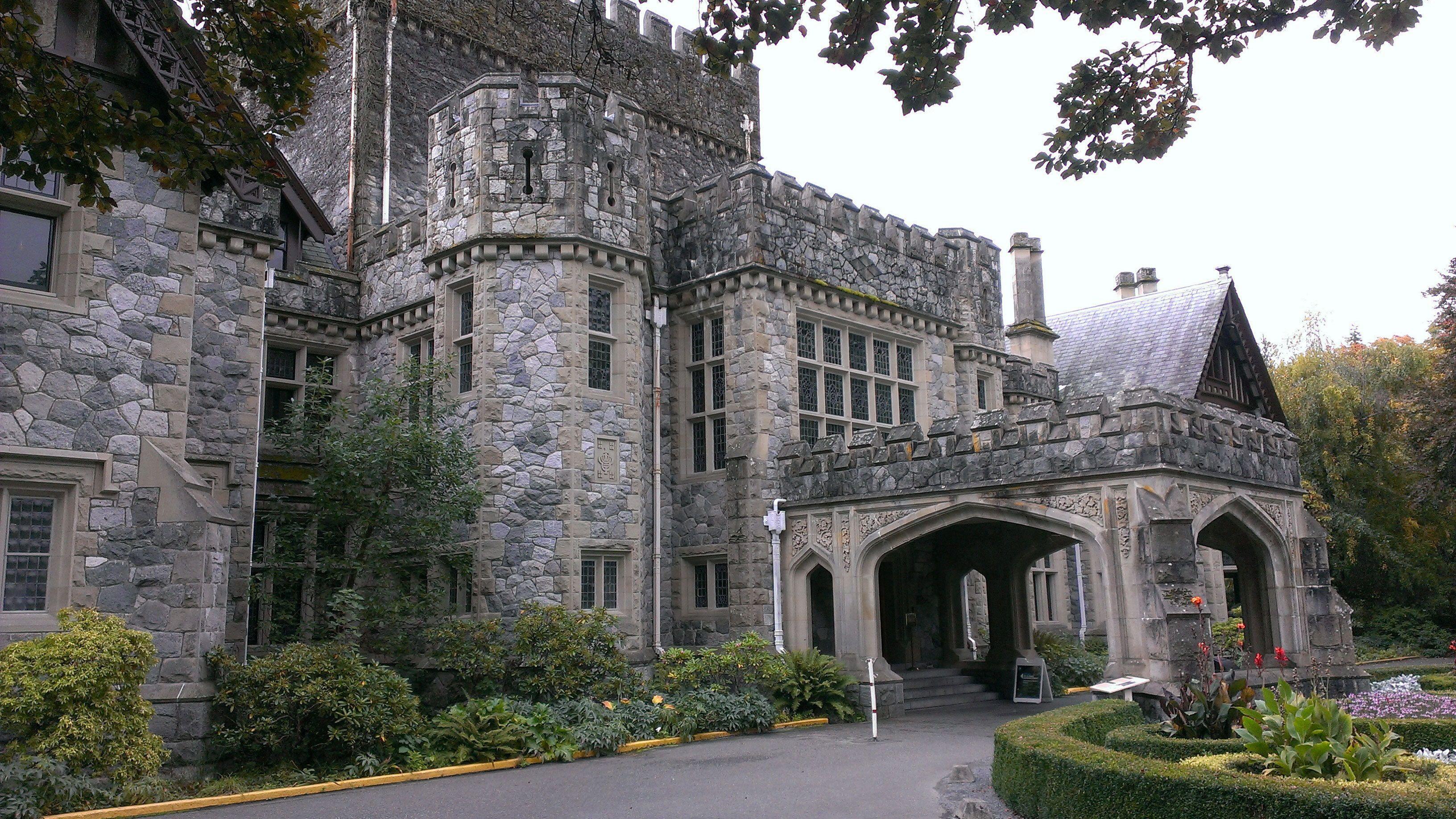 Hatley Castle on Vancouver Island