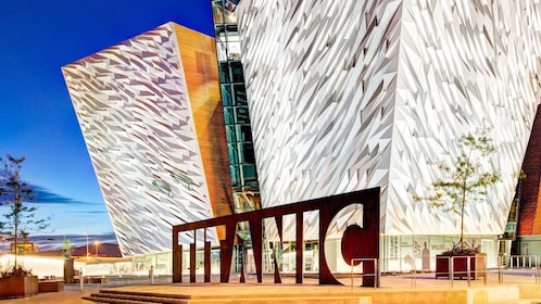 Exterior of the Titanic Museum in Northern Ireland
