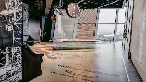 Exhibits at the Titanic museum in Belfast, N.Ireland