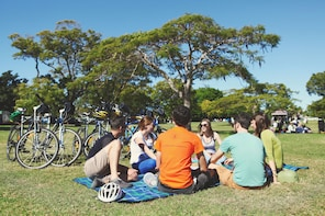 Guided Morning Bicycle Tour with Morning Tea