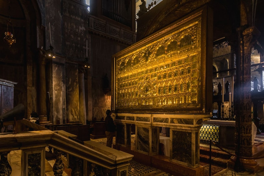 Show item 3 of 10. Combo Tour: The Doge's Palace & St. Mark's Basilica Tour with Gondola Ride