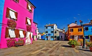 Islands tour, walking Venice tour and charming gondola