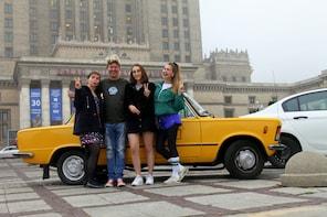Privat tur: Warszawas høydepunkter i en gammel Fiat