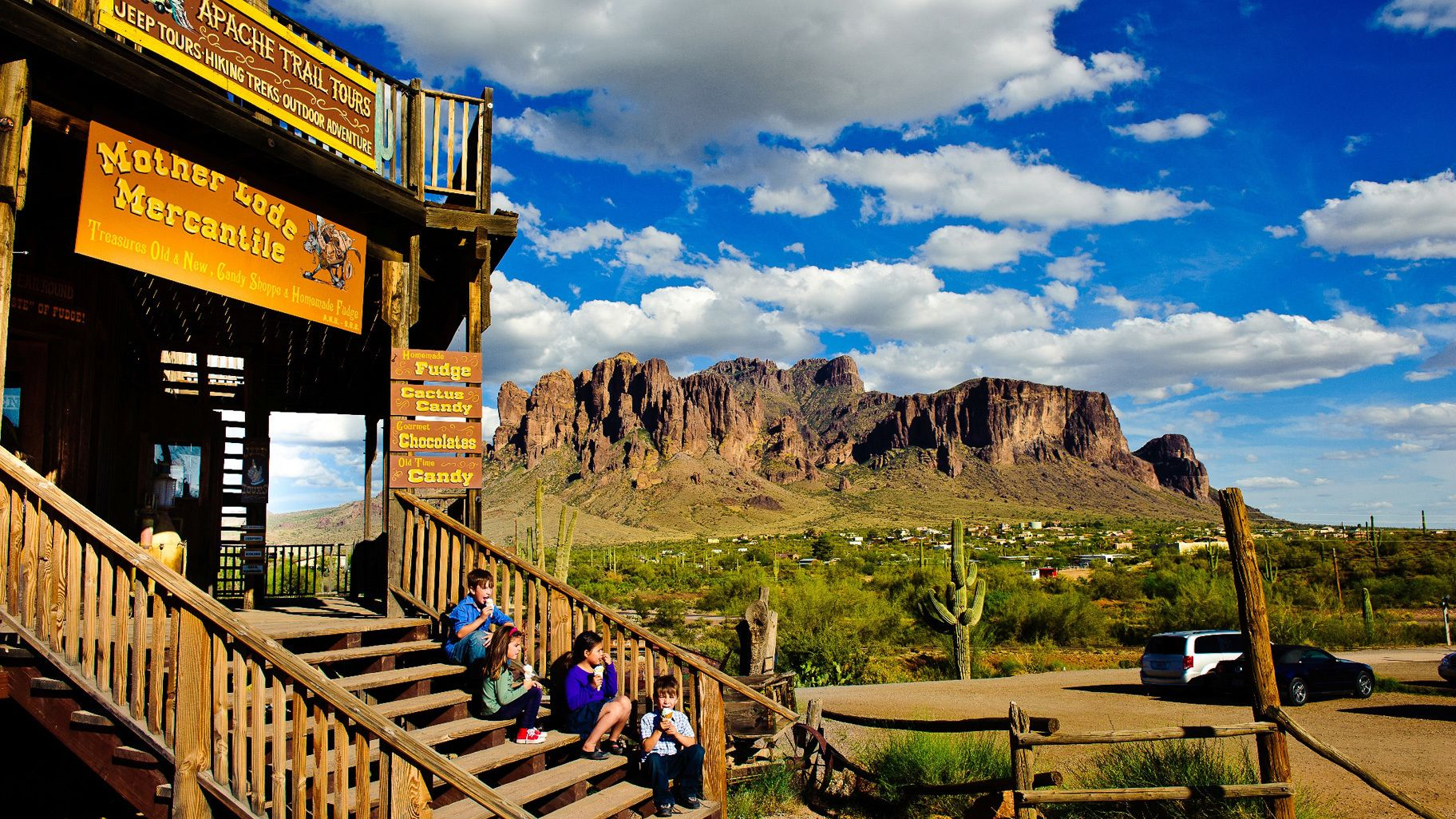 Historic Apache Trail & Sonoran Desert Tour