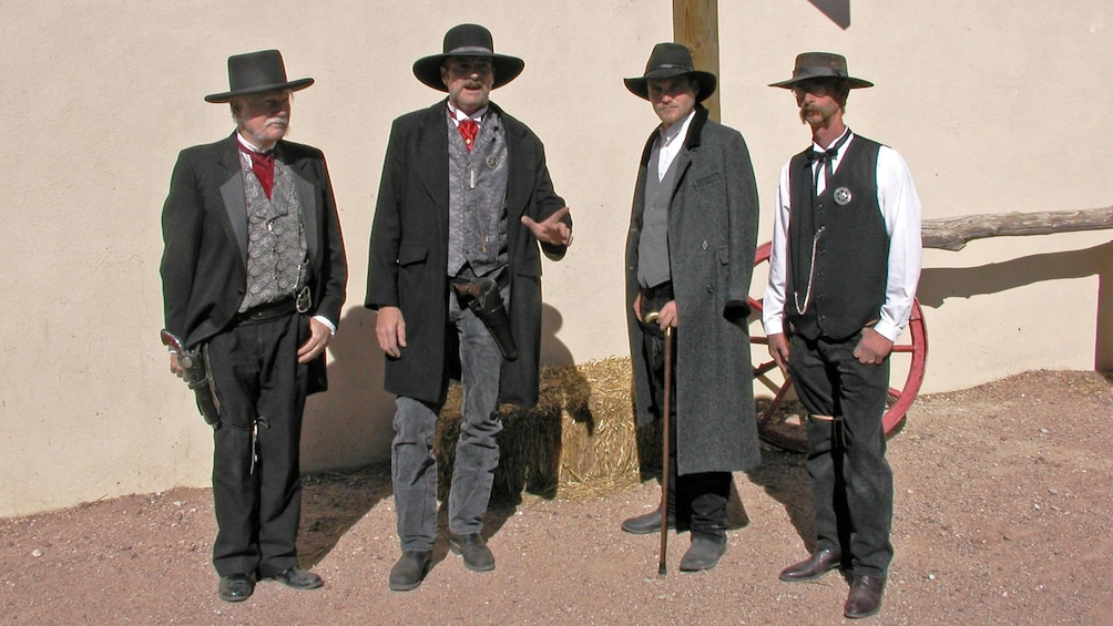 Show item 2 of 4. country gun fighters in tombstone