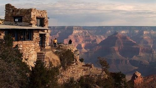 vista point over canyon