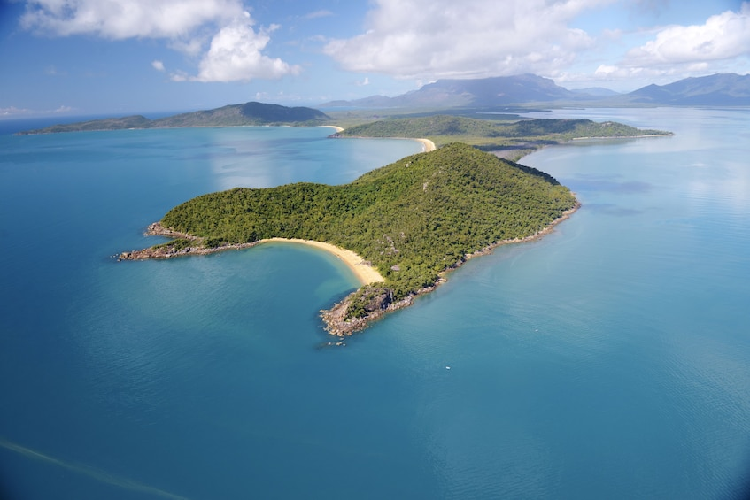 Show item 4 of 7. Palm Island Scenic Helicopter Flight