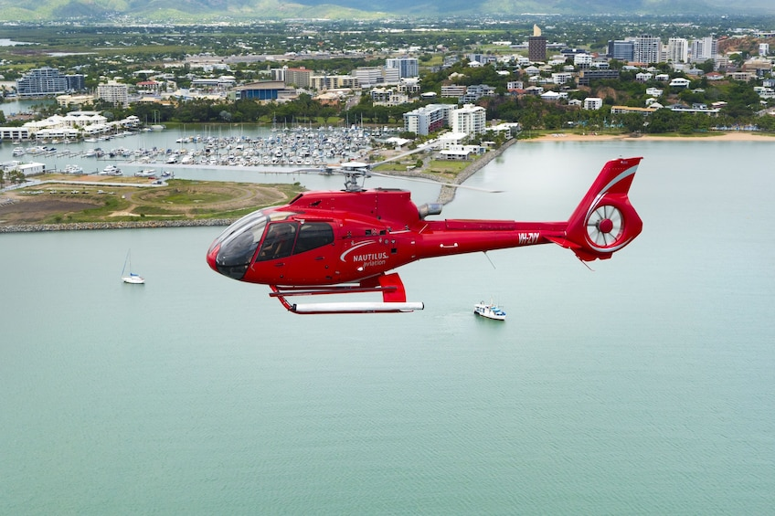 Show item 3 of 4. 10-Minute Townsville City Scenic Flight