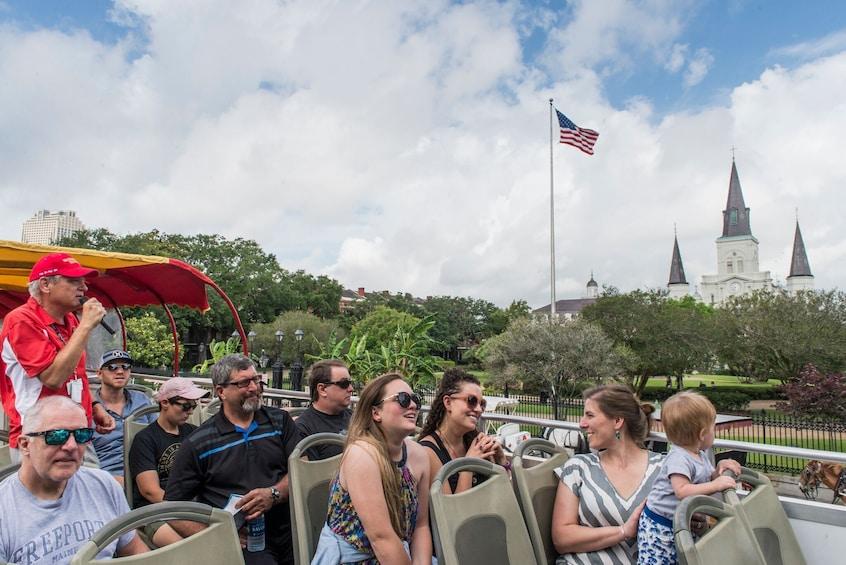 Show item 1 of 8. New Orleans Shore Excursion: Hop-On Hop-Off Bus Tour