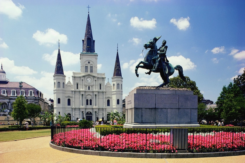 Statue of Andrew Jackson in New Orleans