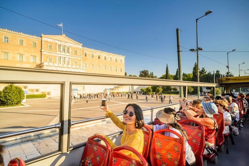 Shore Excursion: Athens & Piraeus Hop-On Hop-Off Bus Tour