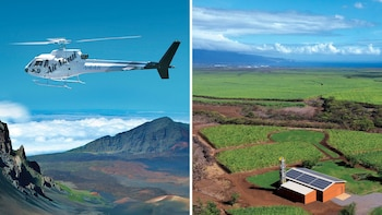 Haleakala Helicopter & Up-Country Maui Highlights Tour