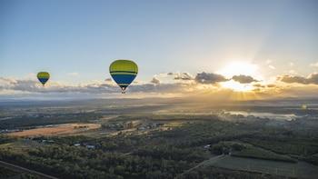 Express Hot Air Balloon Flight