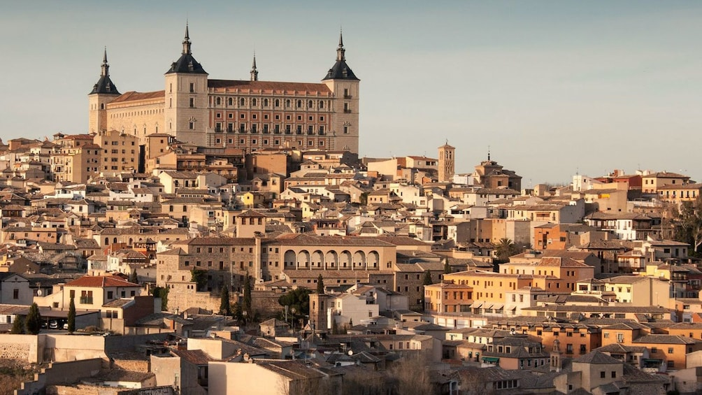 exploring the city during the sunset in Spain