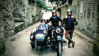 The Great Escape Private Motorcycle Tour in a Sidecar