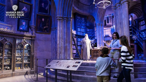 Dumbledore's office in the Wizarding World of Harry Potter in London, England