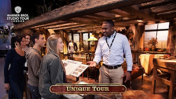 Warner Bros. Studio Tour London – Den fullstendig guidede turen «The Making...