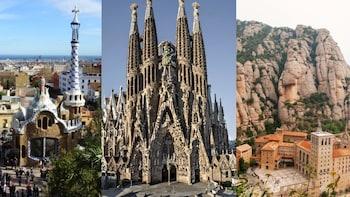 Tour di 2 giorni a Montserrat e Park Güell + Sagrada Familia