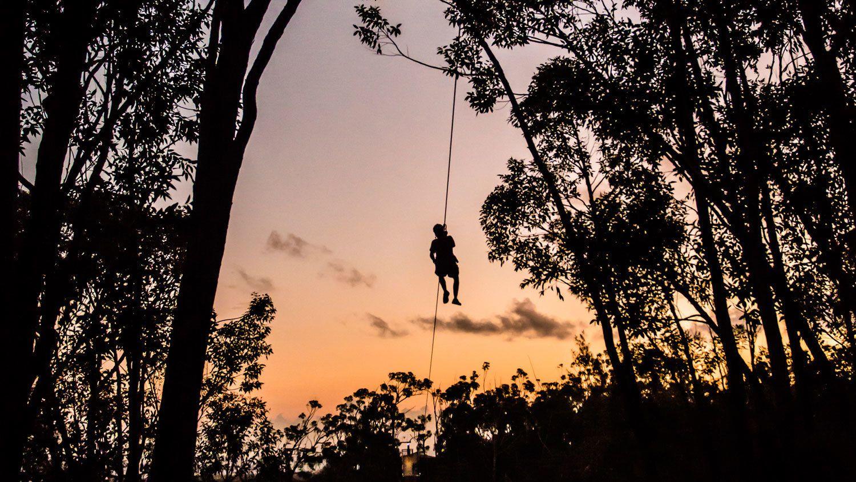 Sunset Ziplining