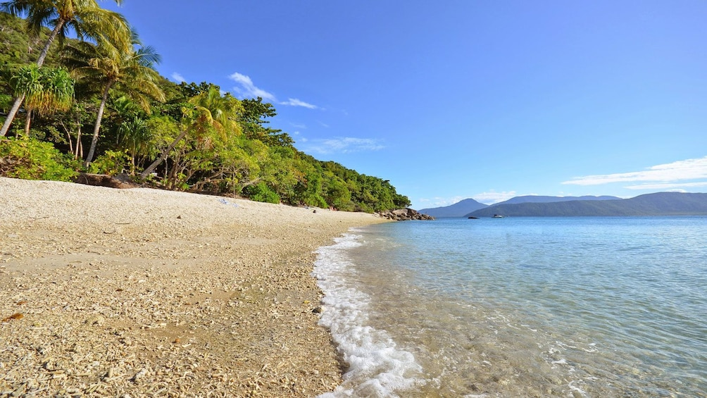 View of beach on Cairns