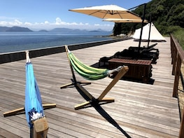 Camp on Private Island KUJIRA-JIMA in the Seto Inland Sea