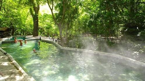 Jungle Hot Springs in Costa Rica