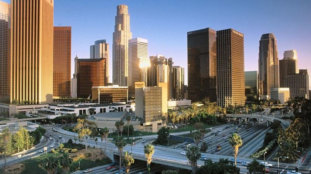 Show item 3 of 5. city view of downtown los angeles
