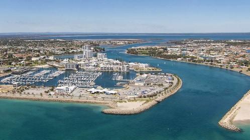 Aerial panoramic view of Perth, Australia