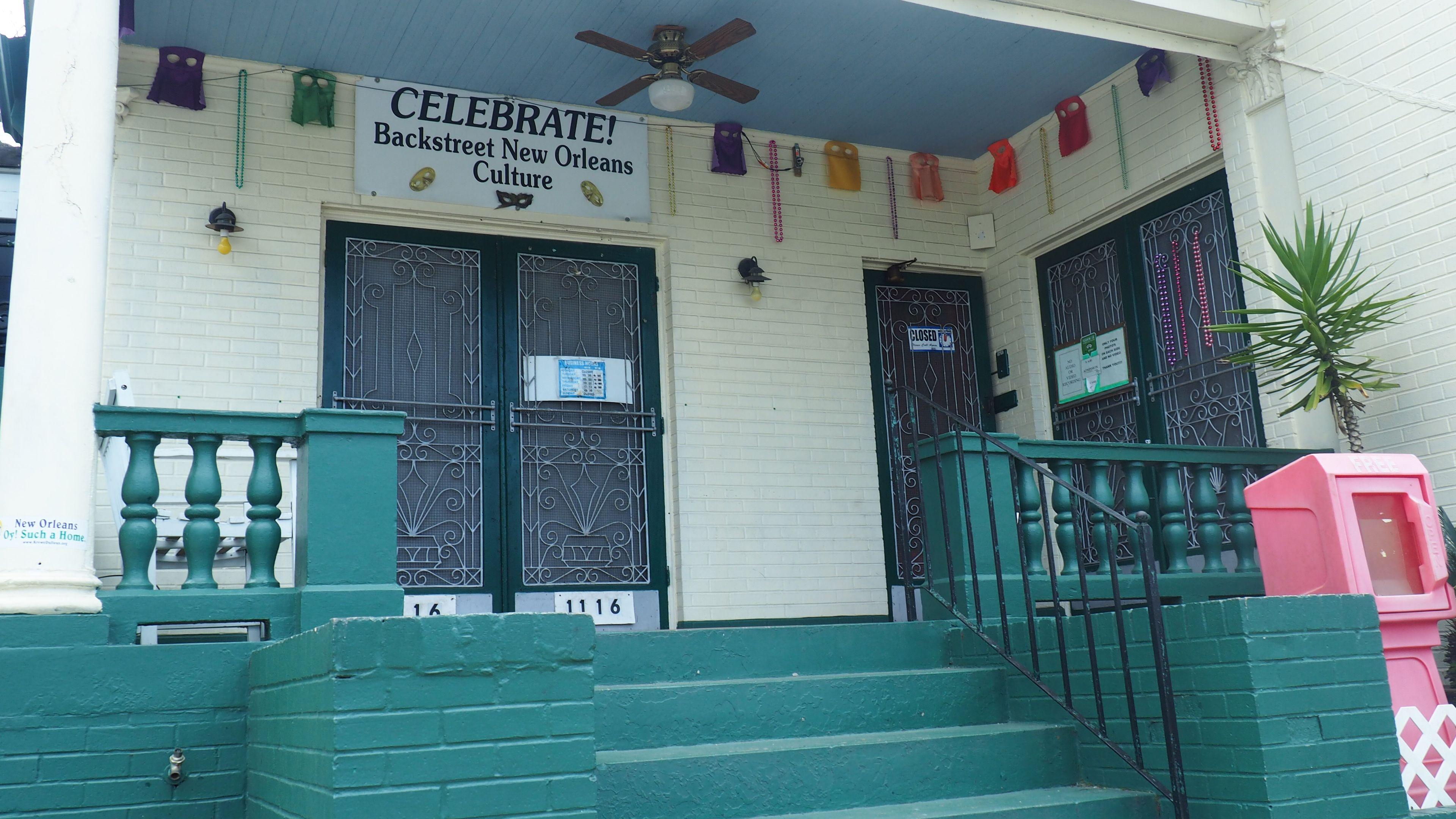 front doors of landmark