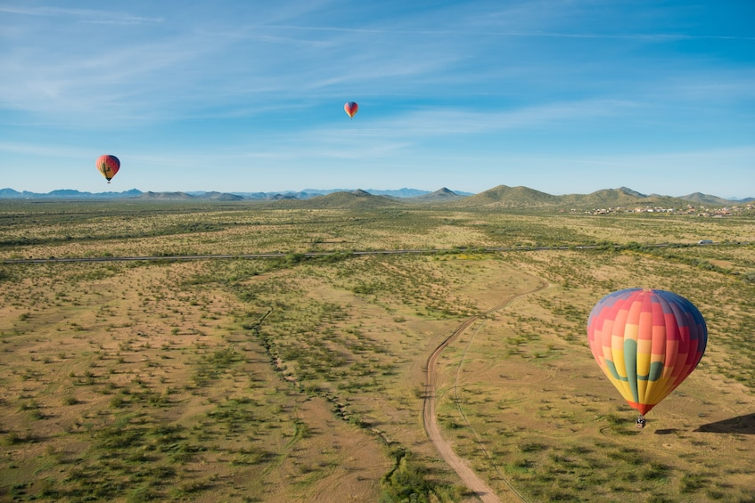 Show item 10 of 10. Morning or Afternoon Hot Air Balloon Flight