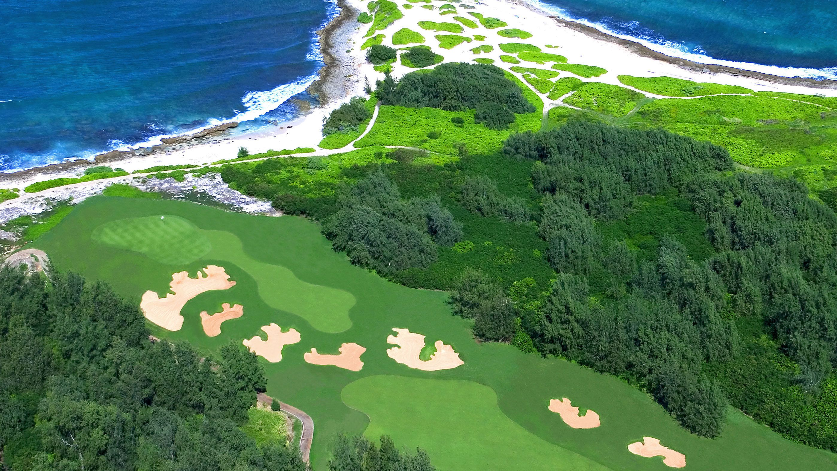 Aerial view of Arnold Palmer Golf Course