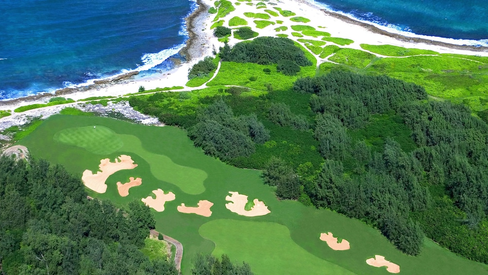 Show item 5 of 5. Aerial view of Arnold Palmer Golf Course