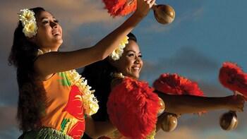 Festa Luau all'Hilton Hawaiian Village di Waikiki