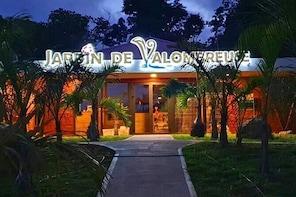 Entrance ticket to the Jardin De Valombreuse