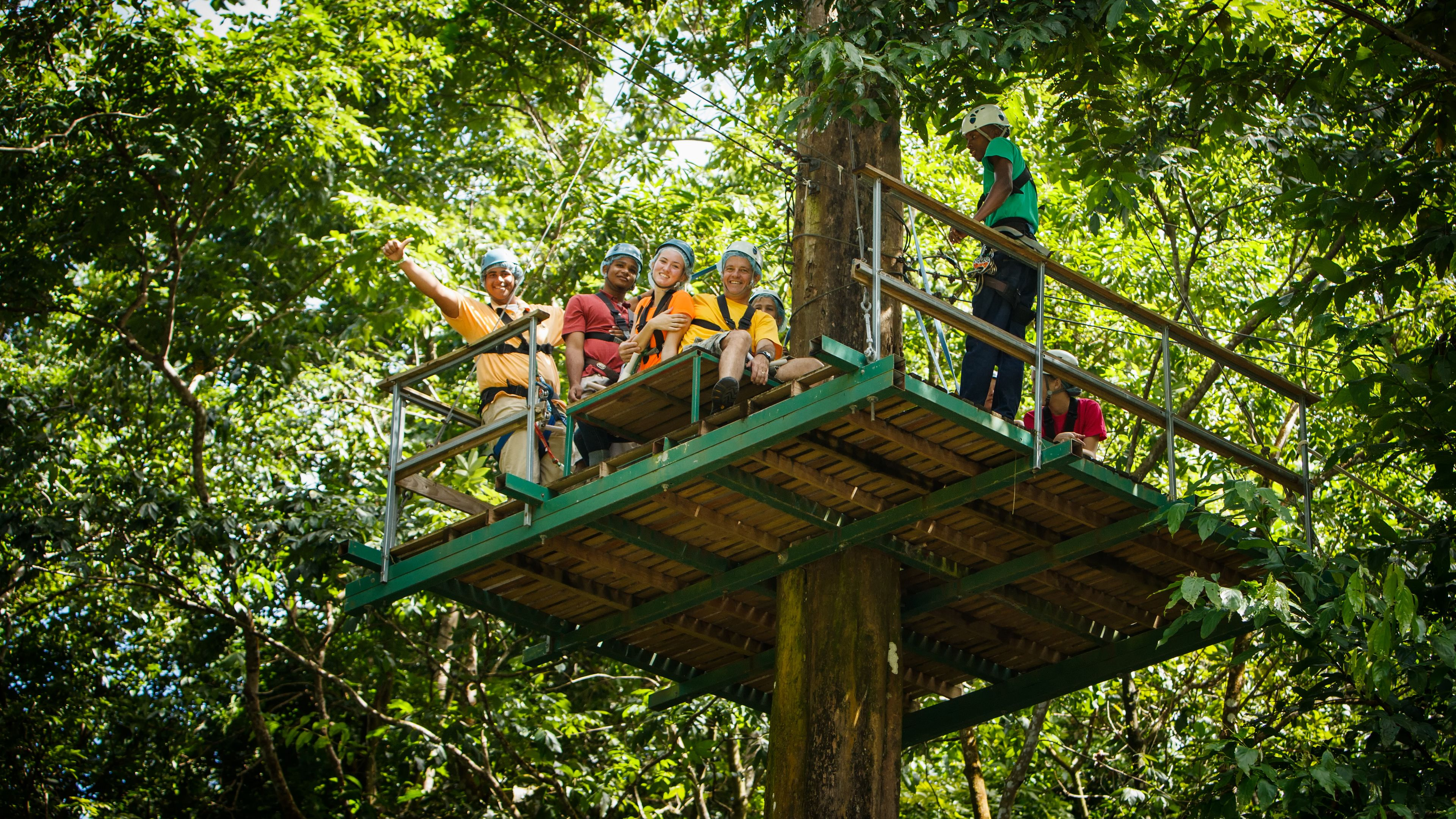 Ultimate 3 Rainforest Adventure; Hike, Tram Ride & Zipline