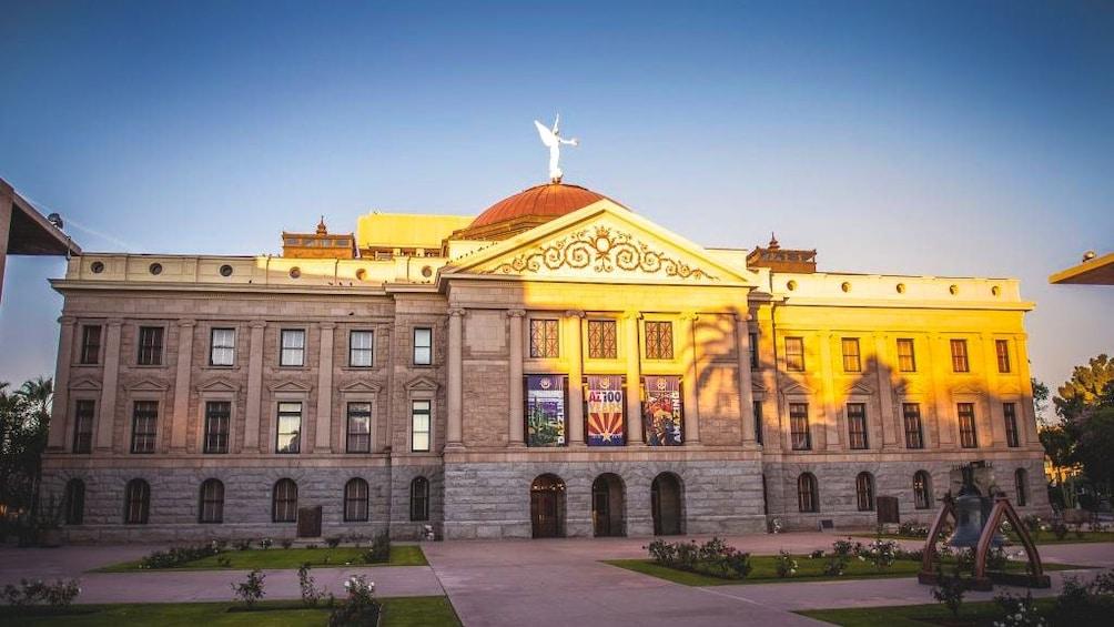 Show item 4 of 5. Exterior view of Arizona Capitol Museum.