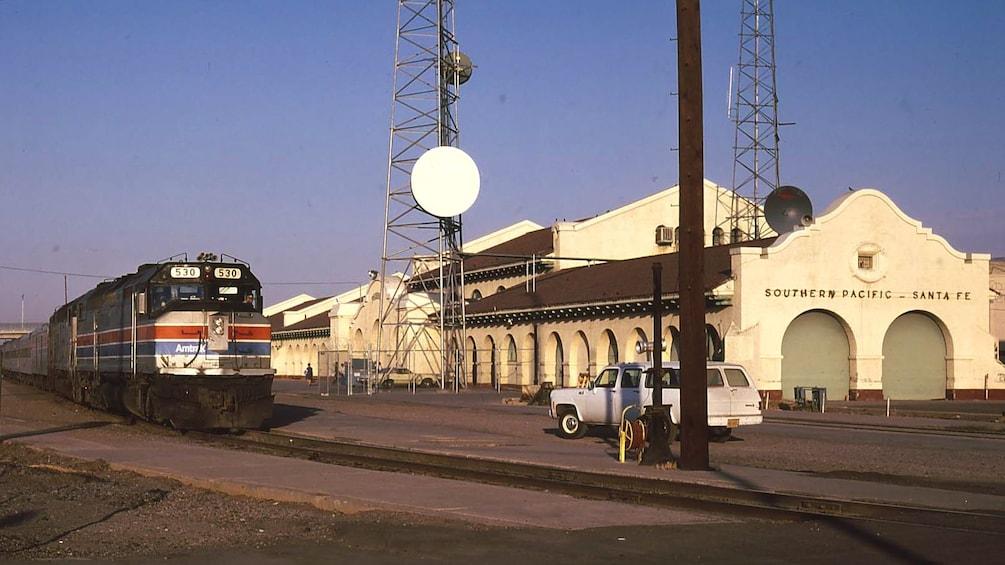 Show item 2 of 5. Metrocenter Transit Station in Phoenix.