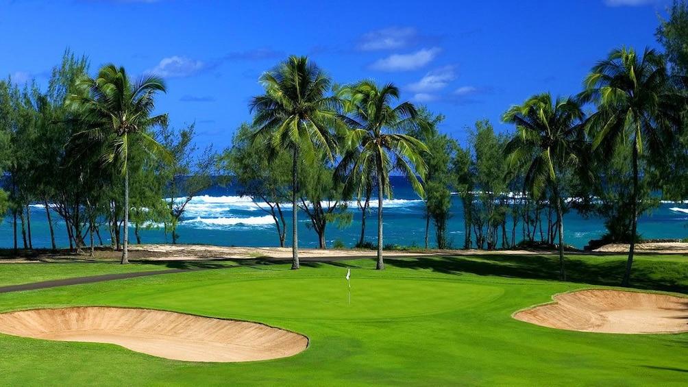 Carregar foto 2 de 5. Enjoy a round of 18 at George Fazio Golf Course at Turtle Bay