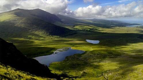 Beautiful landscape view of Ireland