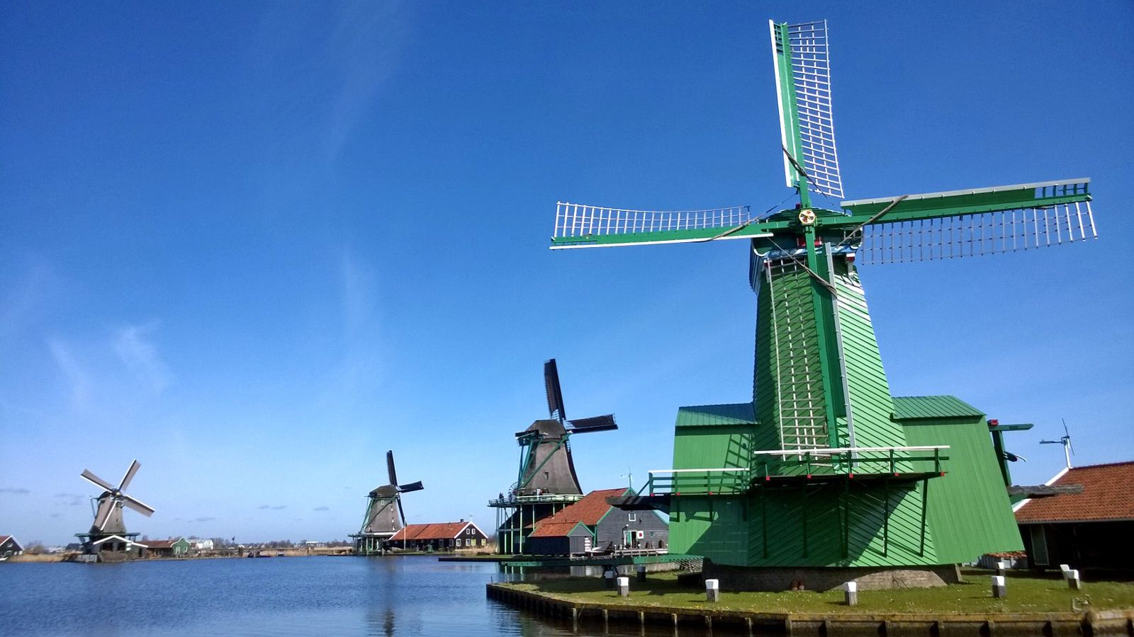 windmill houses in Amsterdam