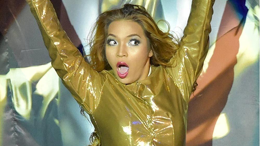 Close headshot of a performer at the Calypso Bangkok Cabaret Show in Bangkok, Thailand