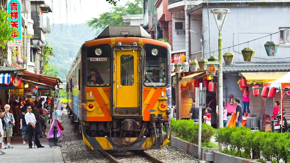 正在顯示第 5 張相片,共 6 張。 Old Street Walk in Taipei