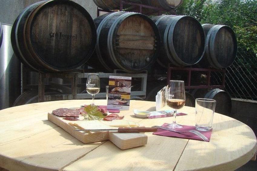 Gourmet tasting in Banyuls-sur-Mer
