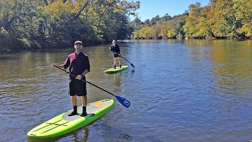 French Broad River stand up paddle boarding Adventure