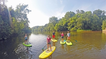 Stand-Up Paddleboard Adventure on the French Broad River