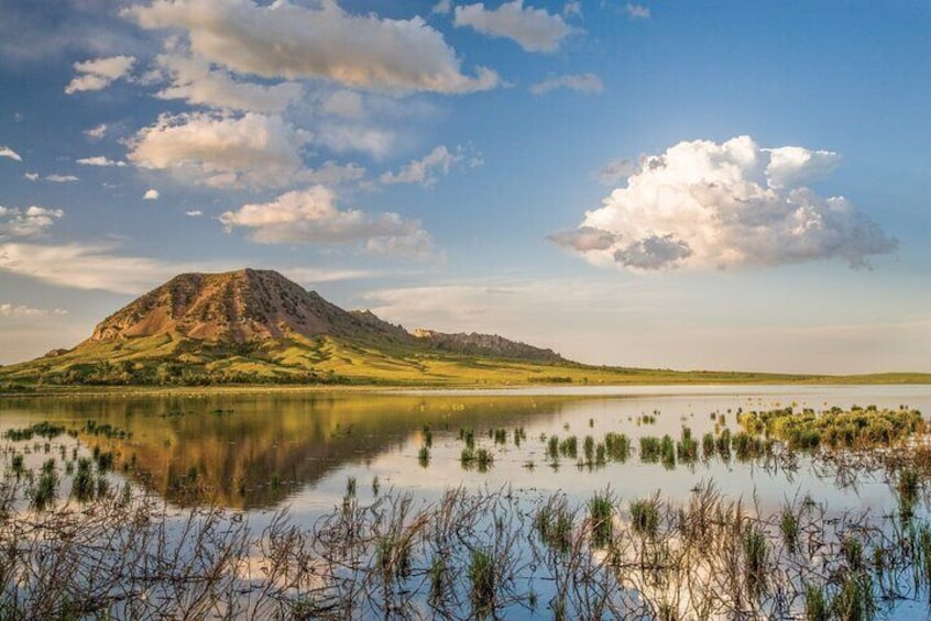 The mountain is sacred to many American Indian tribes who come here to hold religious ceremonies. Artifacts dating back 10,000 years have been found near Bear Butte.