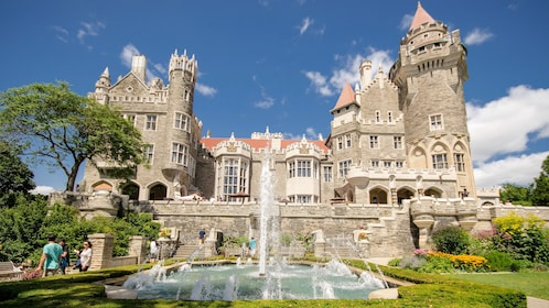 Casa Loma (Spanish for Hill House) is a Gothic Revival style house and gardens in midtown Toronto, Ontario, Canada