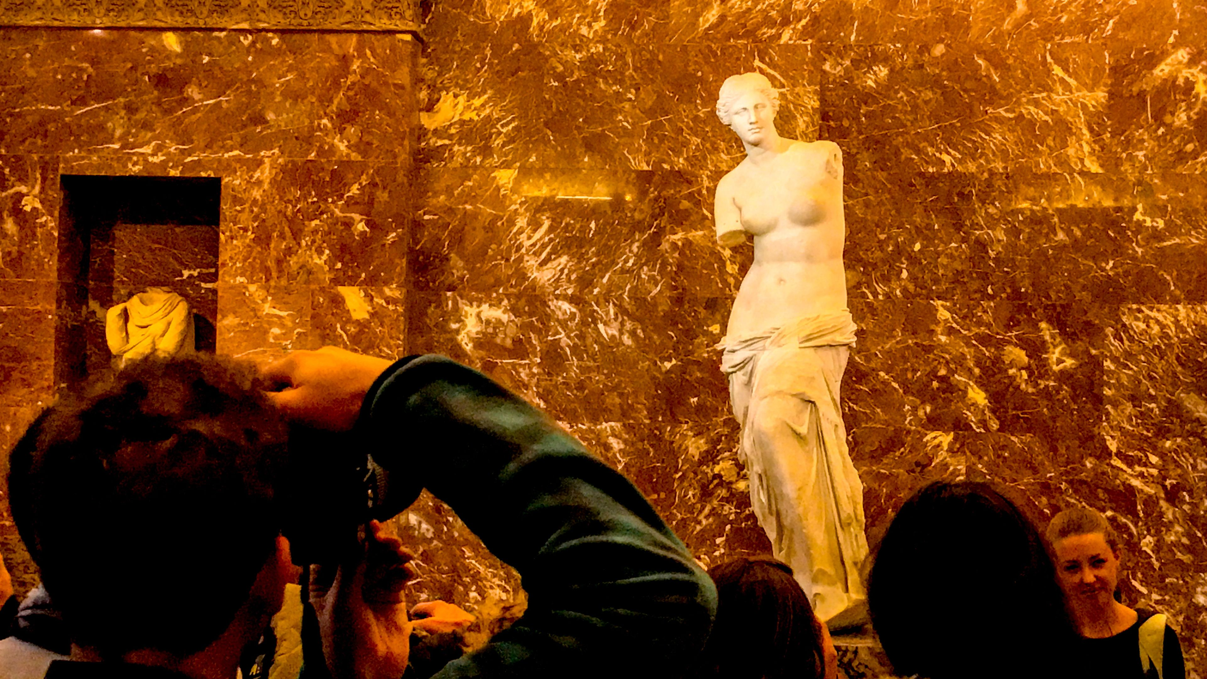 Venus Di Milo in the Louvre