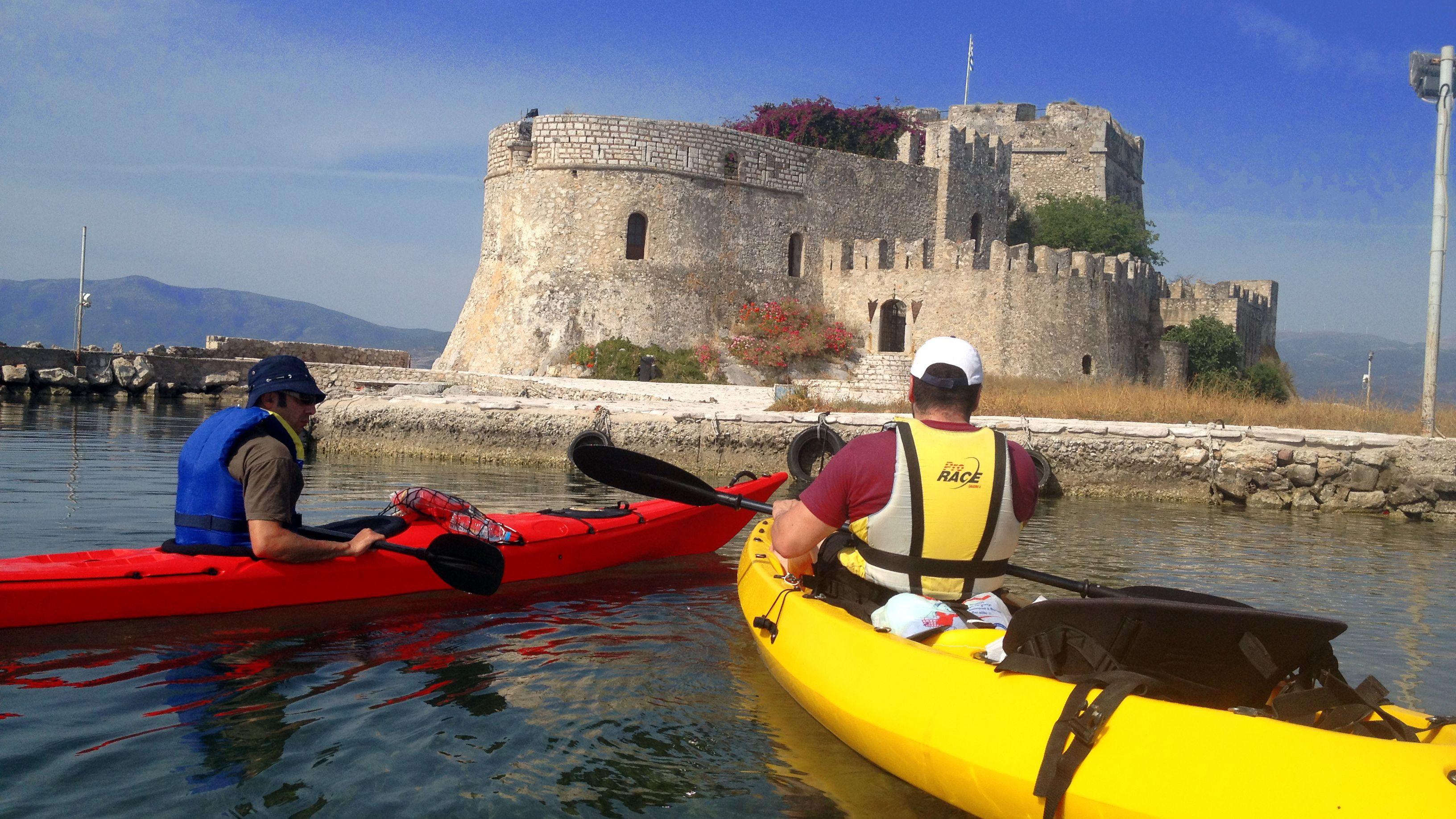 Sea Kayak in Nafplio & Tolo