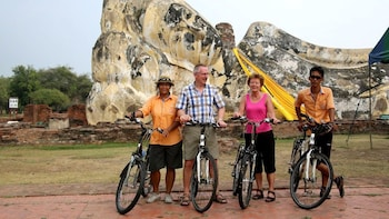 Colours of Ayutthaya tour - a recreational bicycle ride